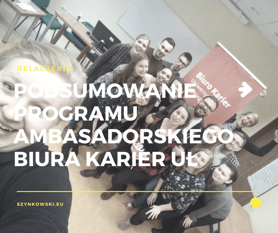 relacje 10.Program Ambasadorski
