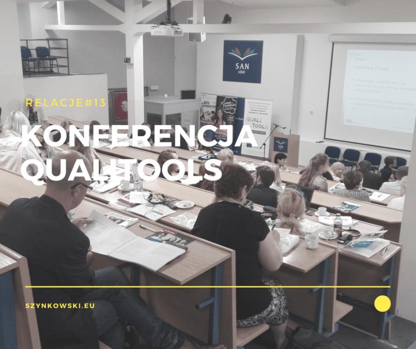 relacje 13. konferencja QUALITOOLS