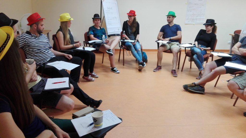 Sesja z wykorzystaniem sześciu myślowych kapeluszy