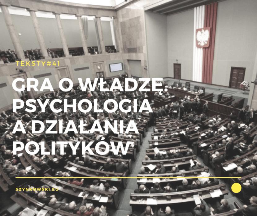 teksty 41. psychologia polityczna