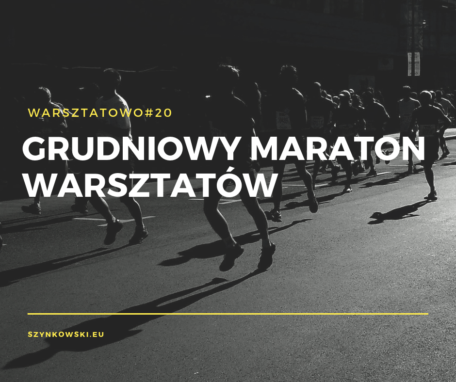 warsztatowo 20. maraton